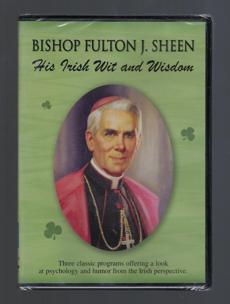 His Irish Wit and Wisdom: Fulton J. Sheen DVD, Bishop Fulton J. Sheen