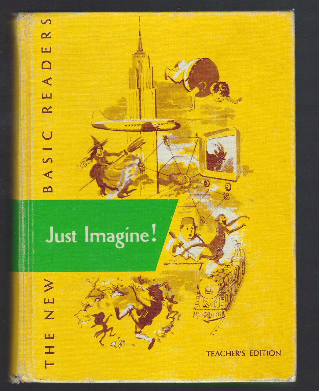 Just Imagine! 1953 Teachers Edition Dick and Jane First Printing New Basic Readers, William S. Gray et. al.