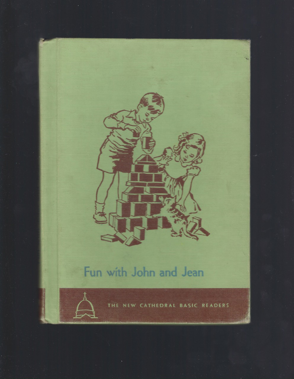 Fun with John and Jean New Cathedral Basic Readers 1952, O'Brien, John A.; Campbell, Eleanor; Ward, Keith [Illustrator]