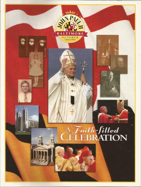 Pope John Paul II Visits Baltimore 1995 A Faith Filled Celebration