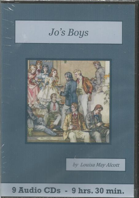Jo's Boys Audiobook CD Set, Louisa May Alcott