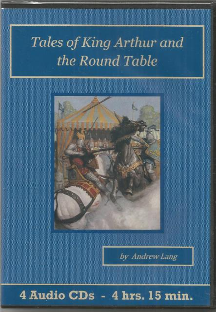 Tales Of King Arthur And The Round Table Audiobook CD Set, Andrew Lang