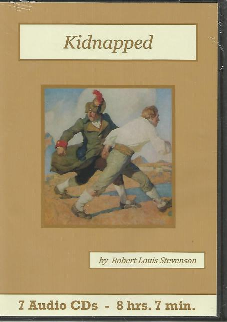 Kidnapped By Robert Louis Stevenson Audio Book CD Set, Robert Louis Stevenson