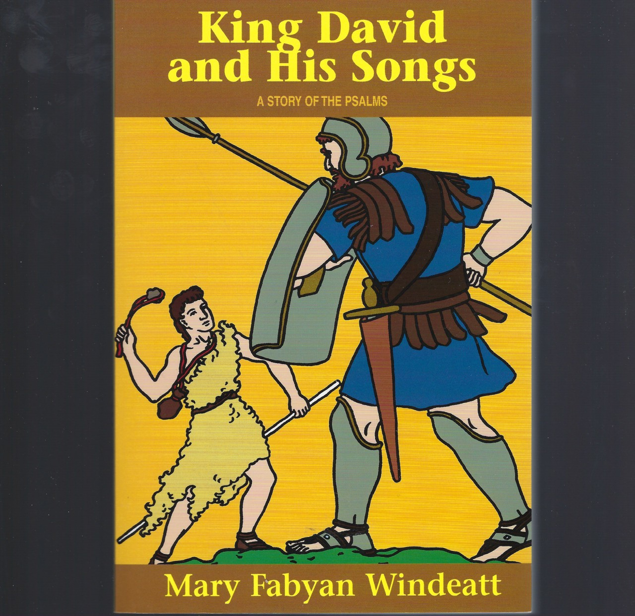 King David and His Songs A Story of the Psalms, Mary Fabyan Windeatt