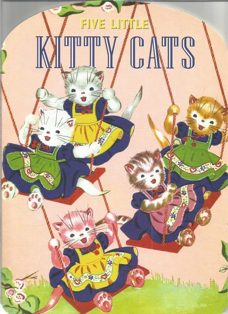 Five Little Kitty Cats Shape Book (Large Picture Book), Dorothy Purnell, [Illustrator]