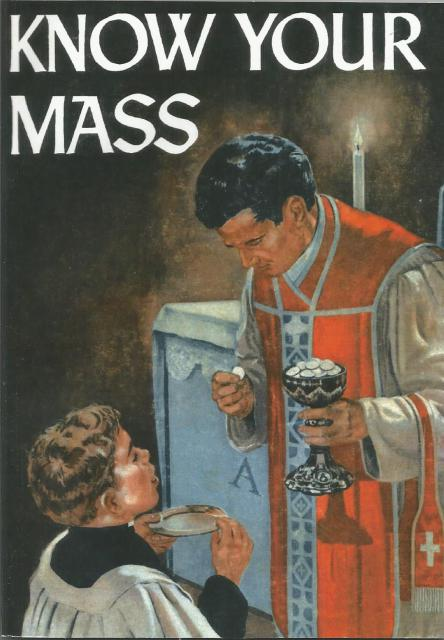 Image for Know Your Mass (Color Vintage Comic Book Format)