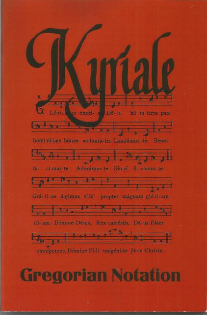 Image for Kyriale Gregorian Notation