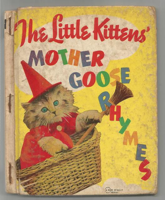The Little Kittens' Mother Goose Rhymes (Real Vintage Photos), Frees, Harry Whittier (Illustrator)