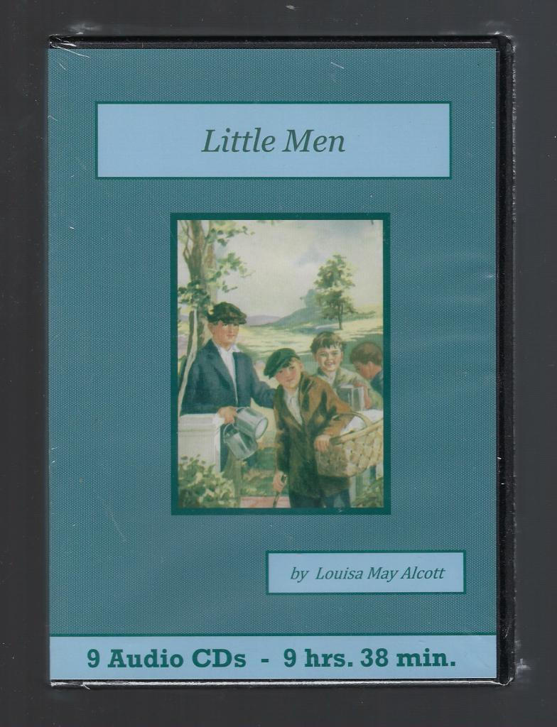 Little Men Audiobook CD Set, Louisa May Alcott