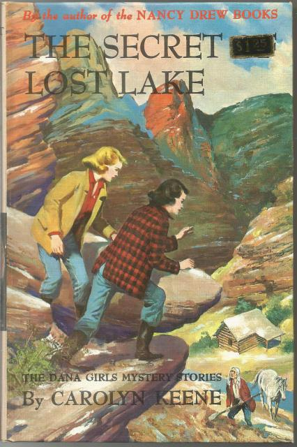 The Secret of Lost Lake #24 Dana Girls 1st Ed 1963 PC, Carolyn Keene