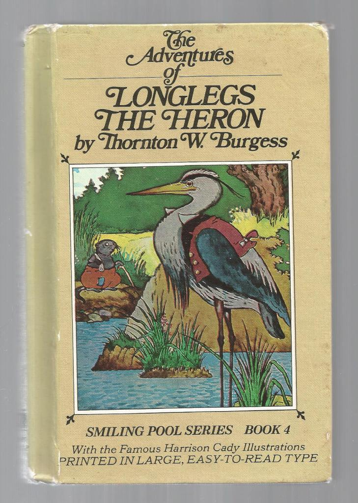 Longlegs The Heron HB/PC, Burgess, Thornton W.