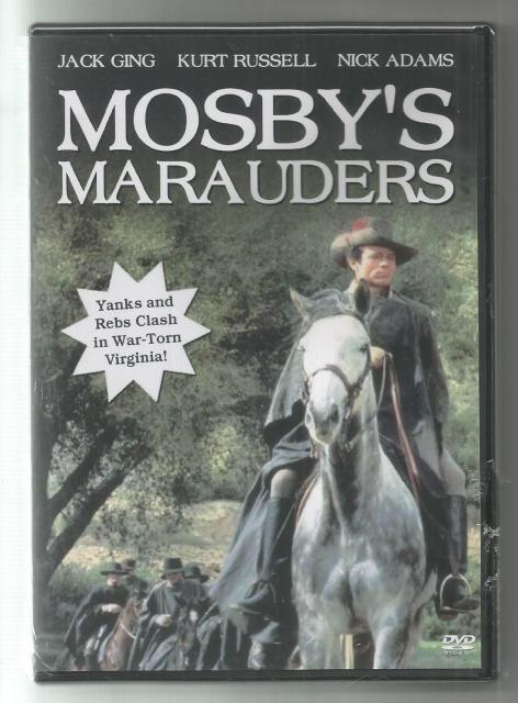 Mosby's Marauders New DVD
