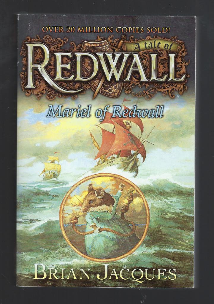 Mariel of Redwall (Redwall, Book 4), Jacques, Brian; Chalk, Gary [Illustrator]