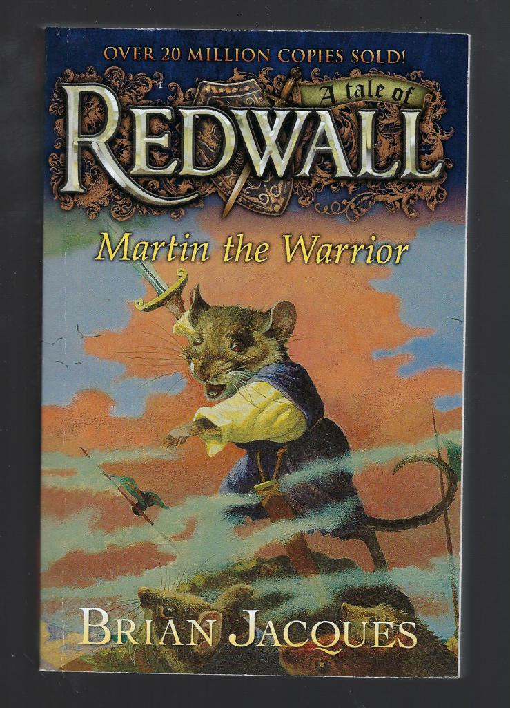 Martin the Warrior: A Tale from Redwall, Jacques, Brian