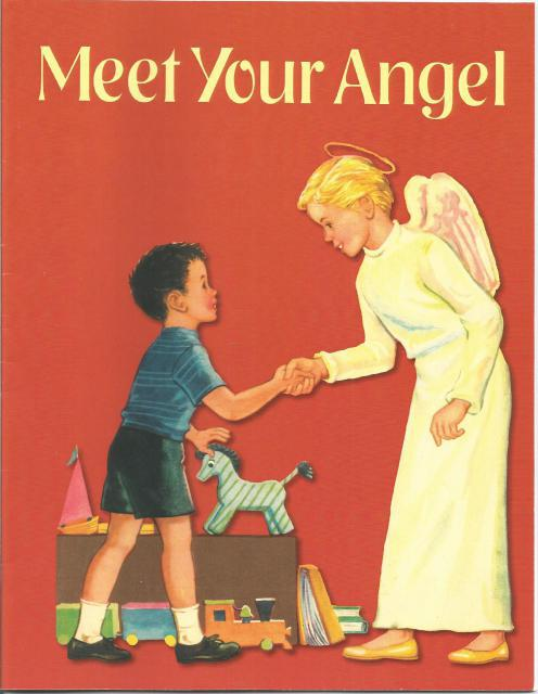 Meet Your Angel Coloring Book, Sister Mary St. Paul of Maryknoll; Violet La Mont [Illustrator]
