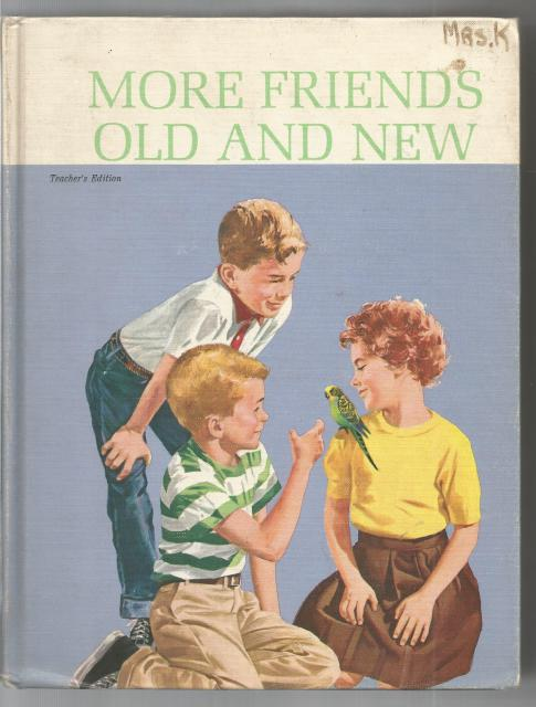 Image for More Friends Old And New Reader TE 1963 Dick And Jane Series