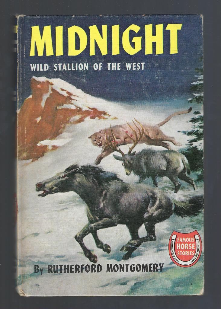 Image for Midnight Wild Stallion of the West (Famous Horse Stories) HB/PC
