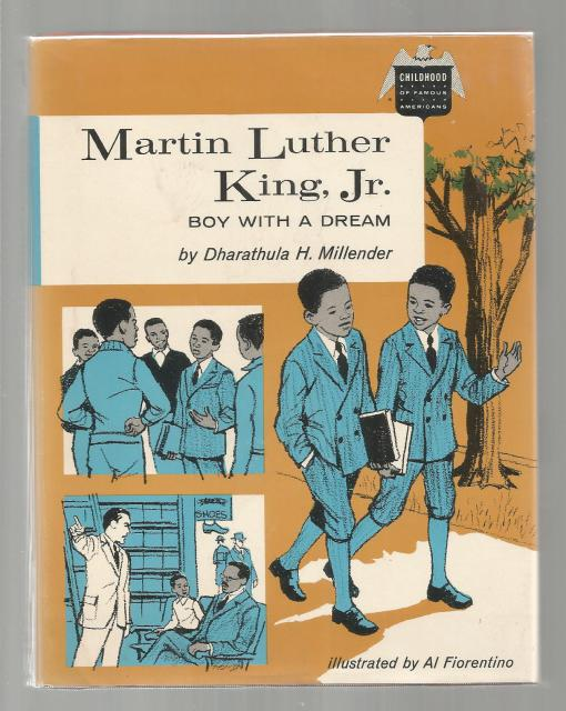 Martin Luther King, Jr. Boy with a Dream (Childhood of Famous Americans) 1969 HB/DJ, Dharathula H. Millender