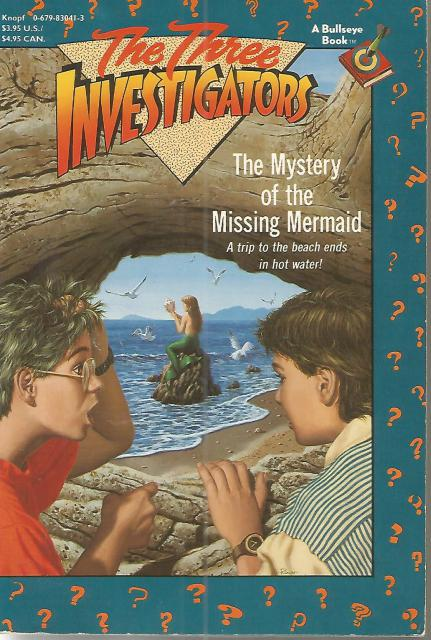 Mystery of the Missing Mermaid #36 (Three Investigators) 1st Print 1st Bullseye, Mary V. Carey