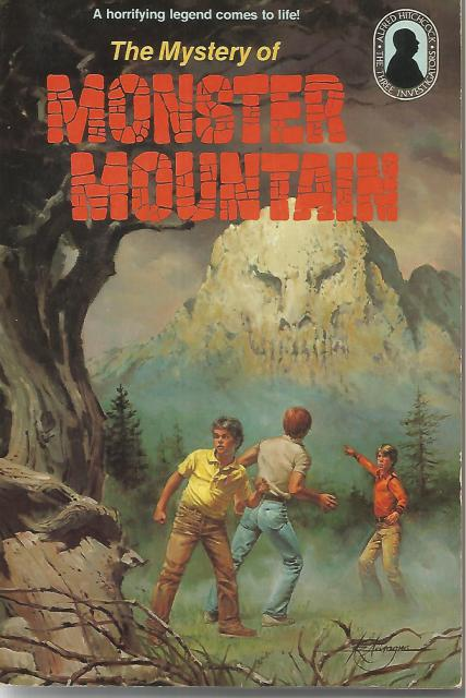 Three Investigators in the Mystery of Monster Mountain #20 SC, M. V. Carey