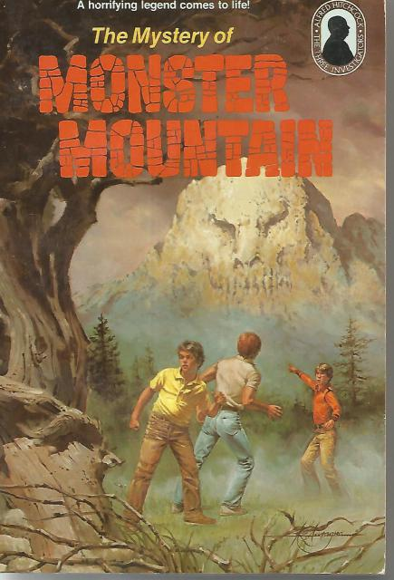 3 Investigators Mystery of Monster Mountain #20 SC, M. V. Carey