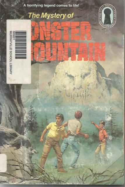 The Mystery of Monster Mountain #20 Three Investigators, M. V. Carey