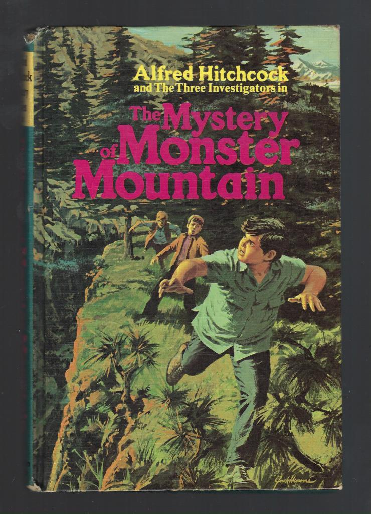 The Mystery of Monster Mountain #20 Three Investigators 1st Printing Hardback, M.V. Carey