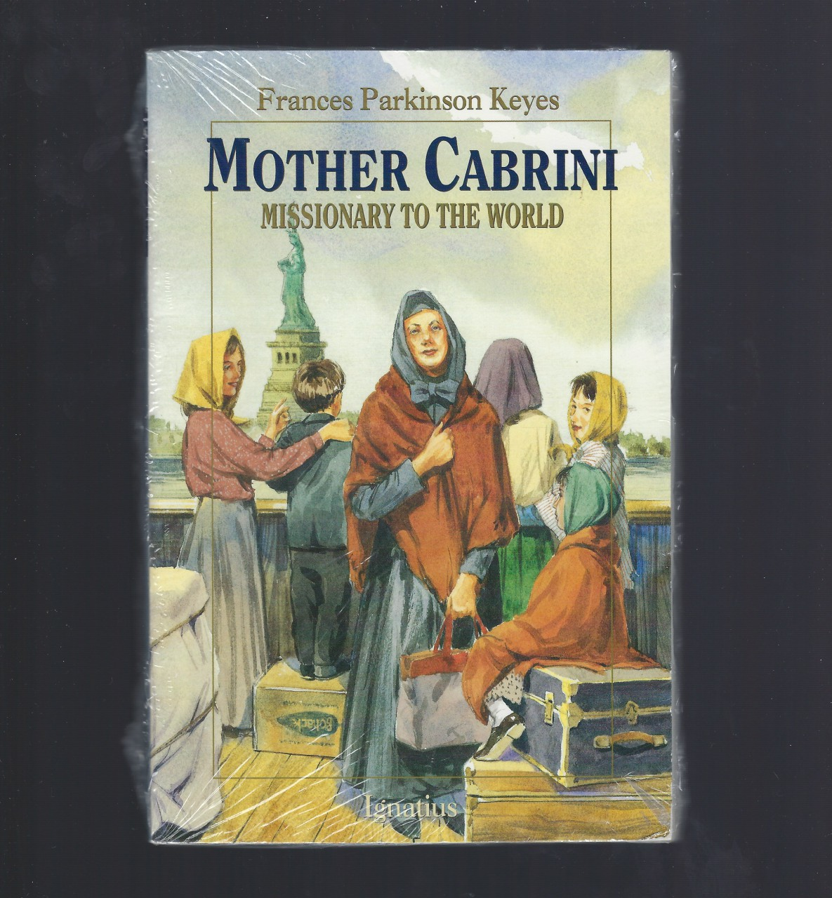 Mother Cabrini: Missionary to the World (Vision Books), Frances Parkinson Keyes; Illustrator-John Lawn