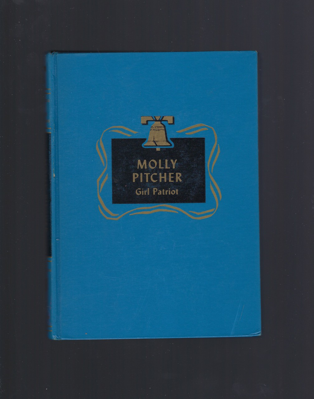 Molly Pitcher Girl Patriot Childhood of Famous Americans Spencer Press, Augusta Stevenson