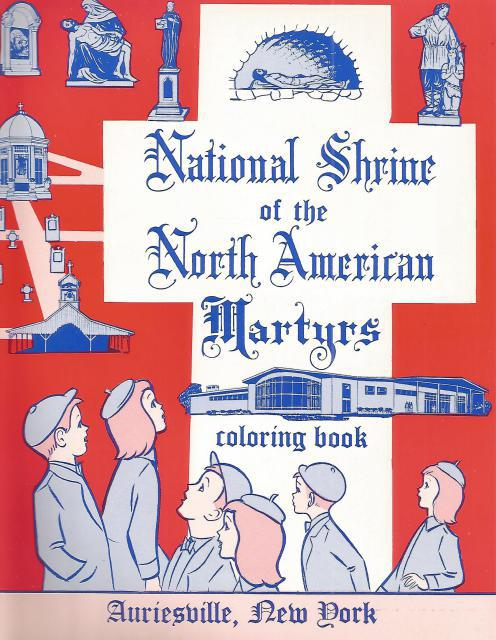 Image for National Shrine of the North American Martyrs Coloring Book