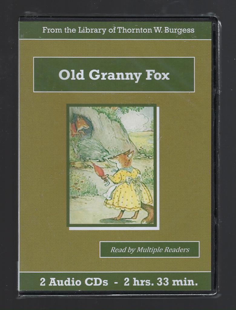 Old Granny Fox Thornton Burgess Audiobook CD Set, Thornton W. Burgess
