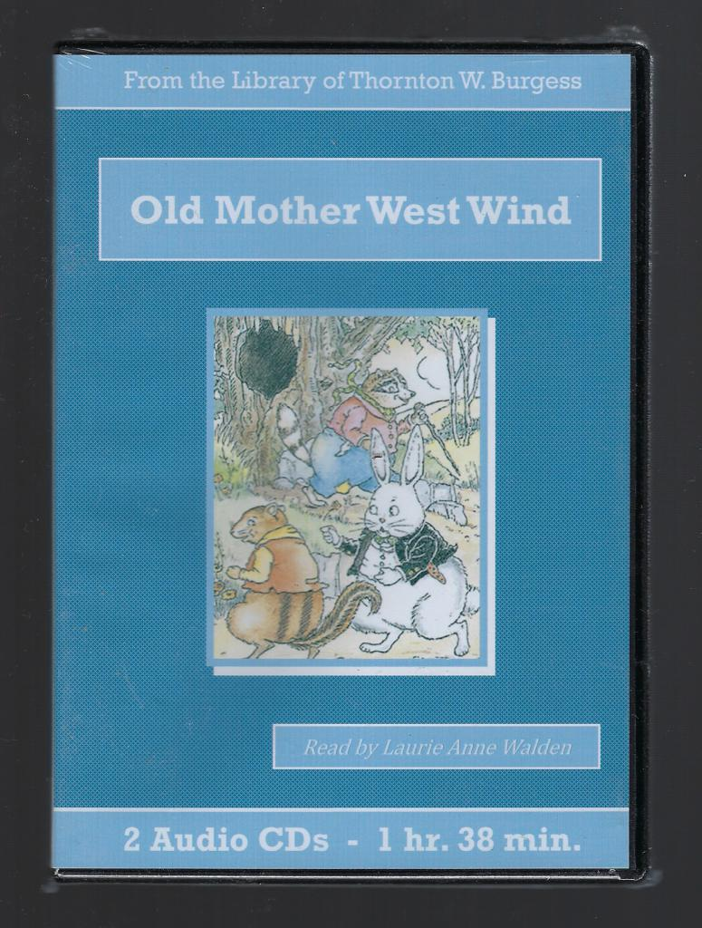 Old Mother West Wind Thornton Burgess Audiobook CD Set, Thornton W. Burgess