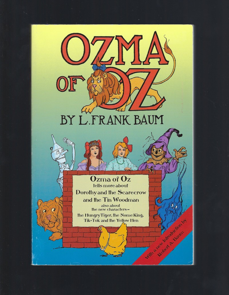 Ozma of Oz by Frank Baum, Baum, L. Frank