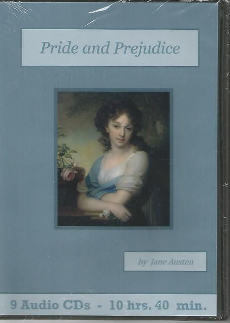 Pride and Prejudice Audiobook CD Set, Jane Austen