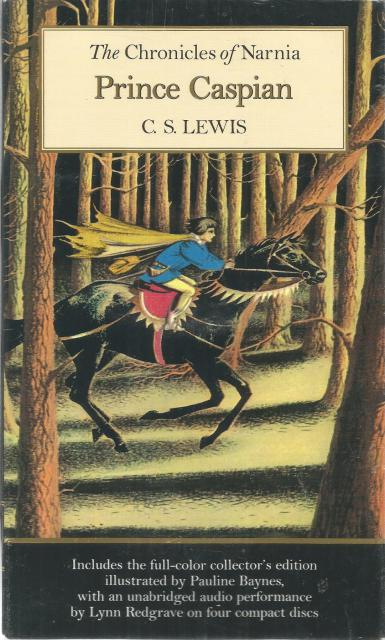 Prince Caspian Book and CD (Narnia), C. S. Lewis; Illustrator-Pauline Baynes