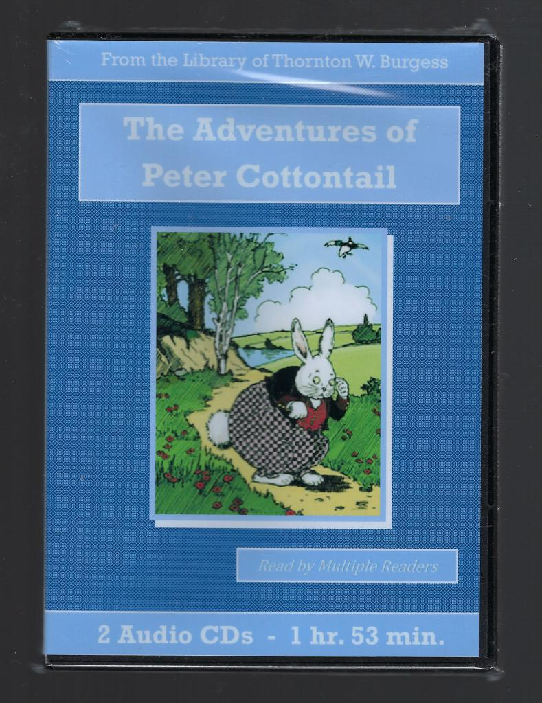 Adventures of Peter Cottontail Thornton Burgess Audiobook CD Set, Thornton W. Burgess