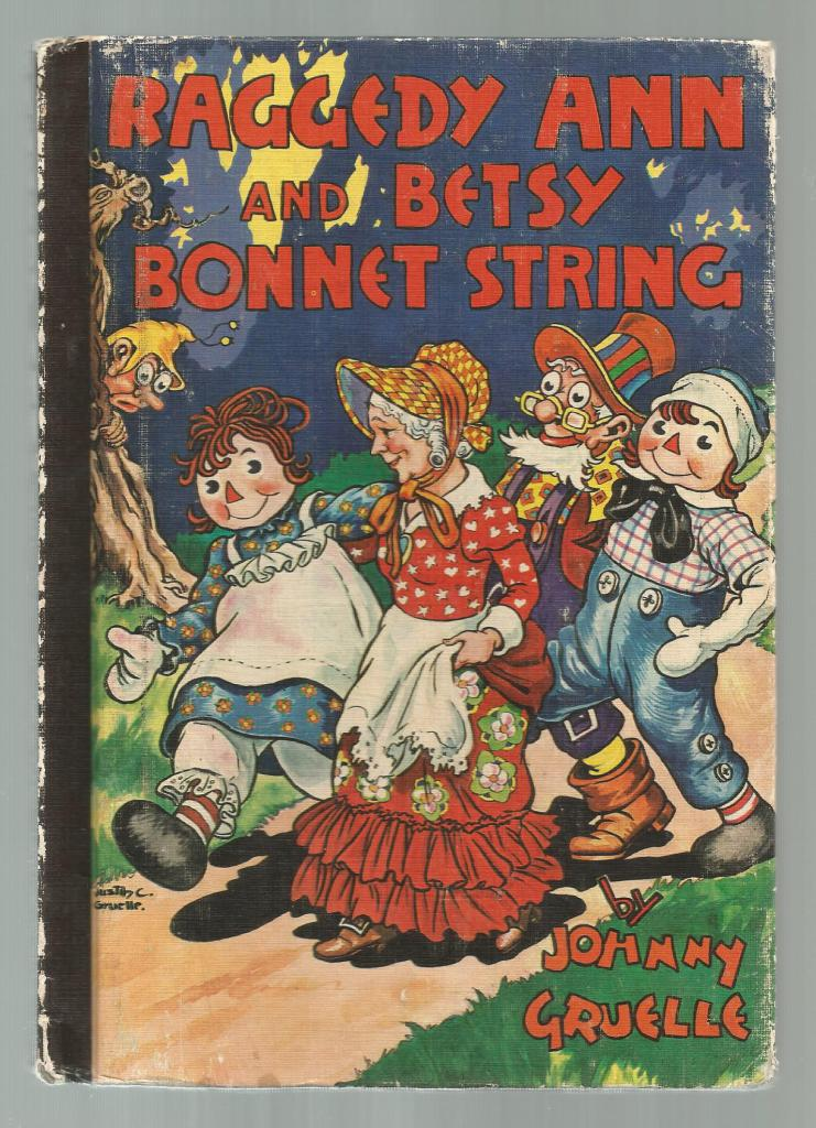 Raggedy Ann And Betsy Bonnet String, Gruelle, Johnny