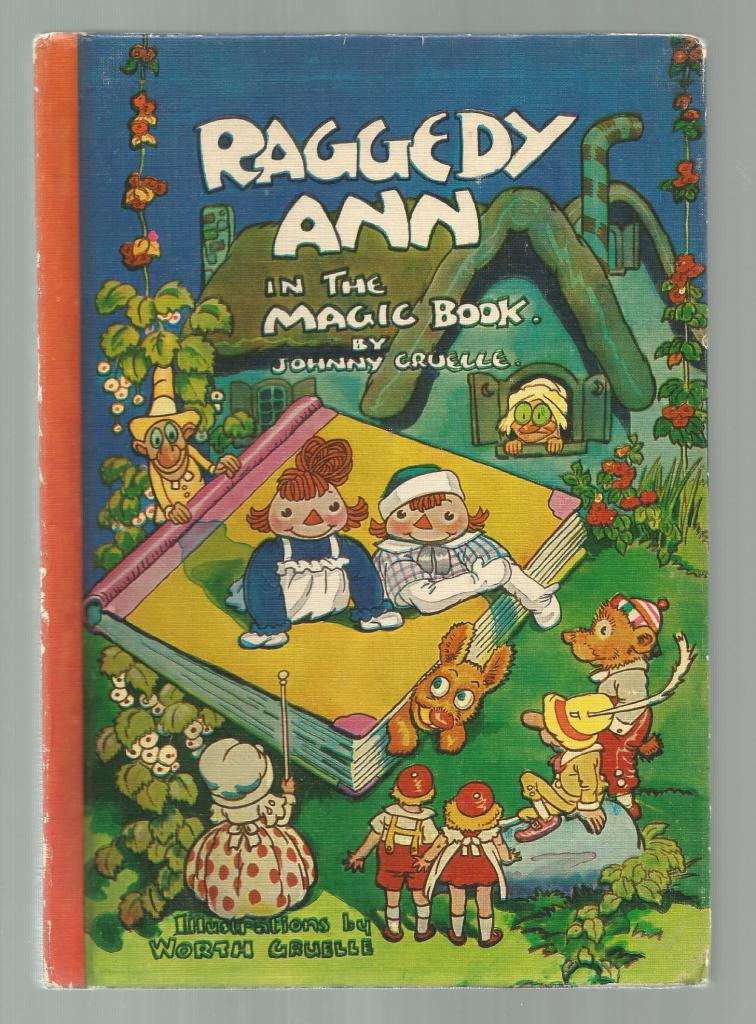 Raggedy Ann in the Magic Book, Gruelle, Johnny