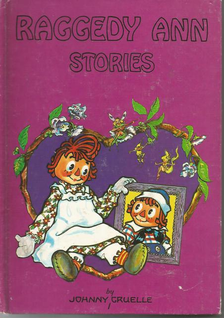 Raggedy Ann Stories 1955 Vintage Hardback, Johnny Gruelle