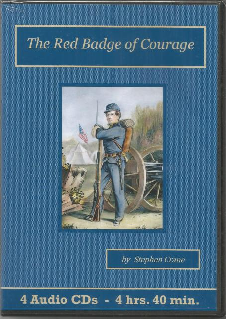 The Red Badge of Courage Audiobook CD Set, Stephen Crane