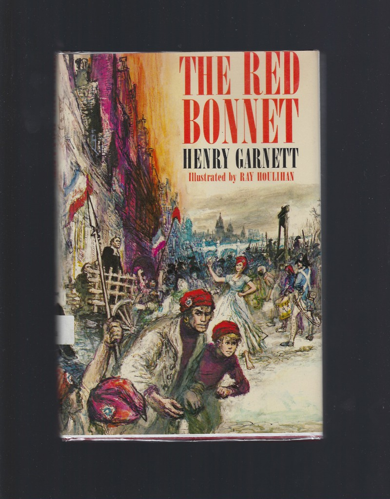 The Red Bonnet Catholic Doubleday 1964 HB/DJ, Henry Garnett; Ray Houlihan [Illustrator]