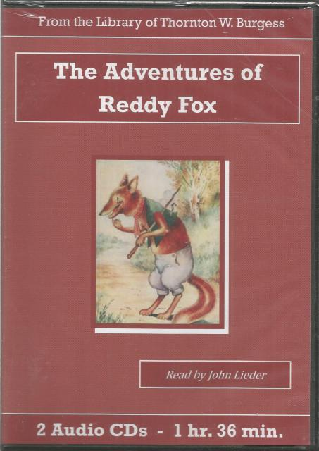 The Adventures of Reddy Fox Thornton Burgess Audiobook CD Set, Thornton W. Burgess