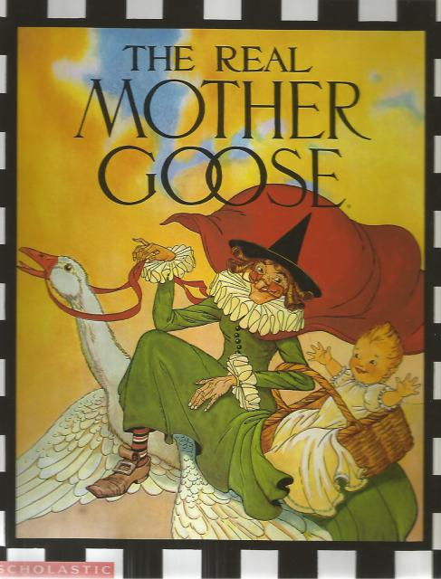 Real Mother Goose Large Hardback, Blanche Fisher Wright; Blanche Fish Wright [Illustrator]