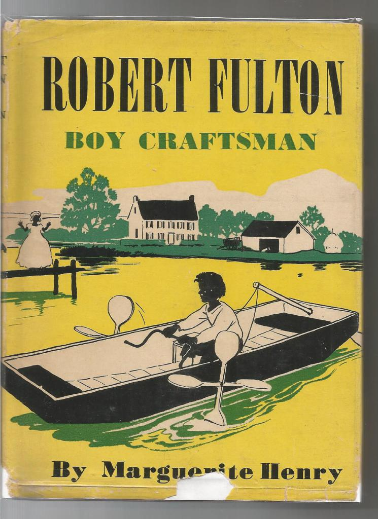 Image for Robert Fulton Boy Craftsman 1st Ed (Childhood of Famous Americans) 1945 HB/DJ Misty Author