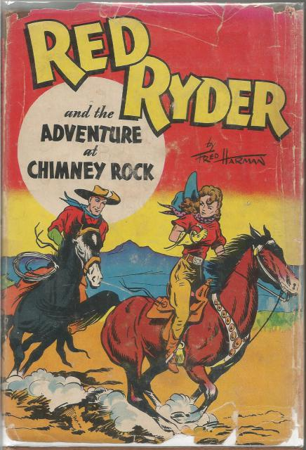 Red Ryder and the Adventure at Chimney Rock 1946, Fred Harman