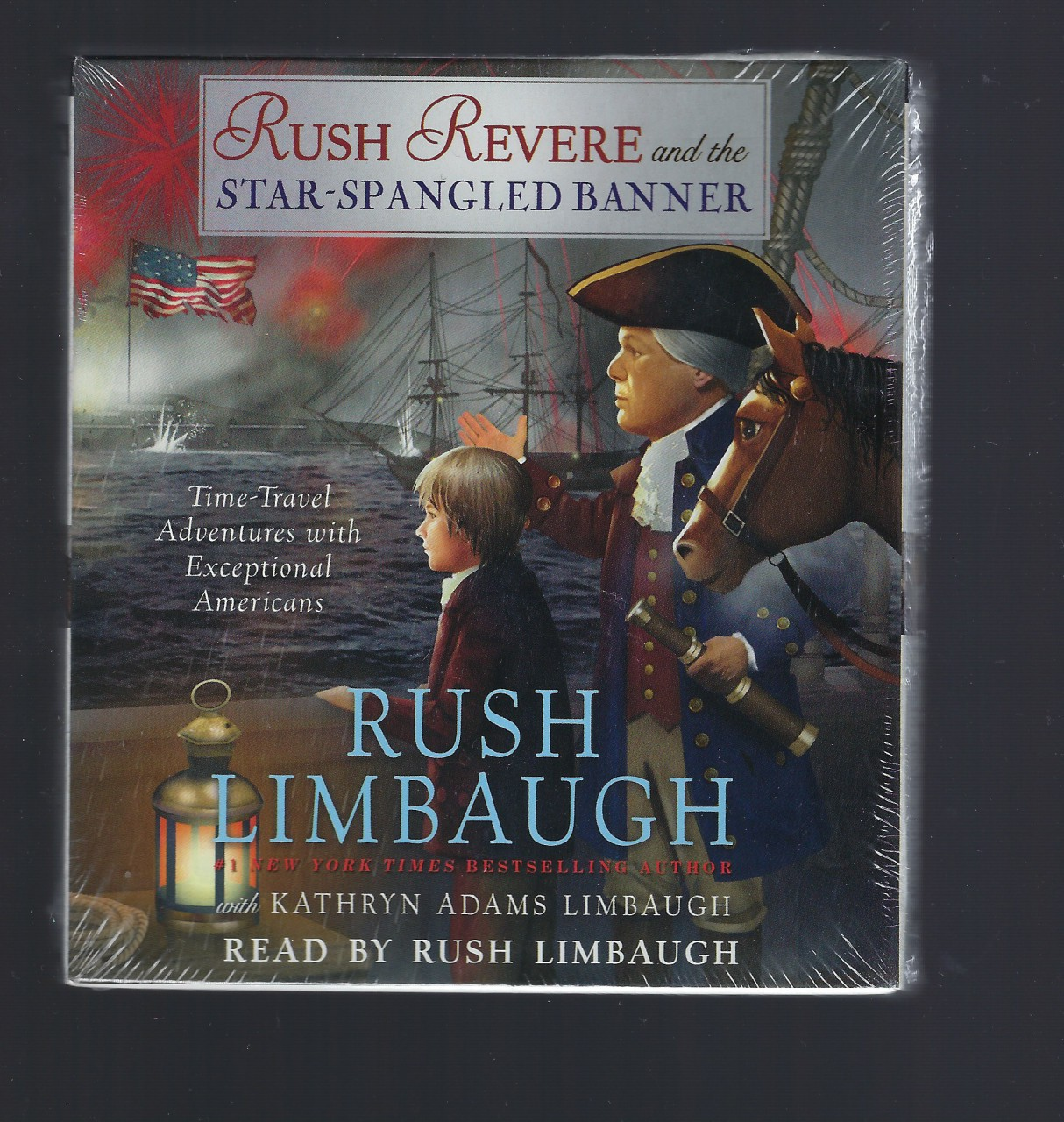 Rush Revere and the Star-Spangled Banner Audiobook, Rush Limbaugh
