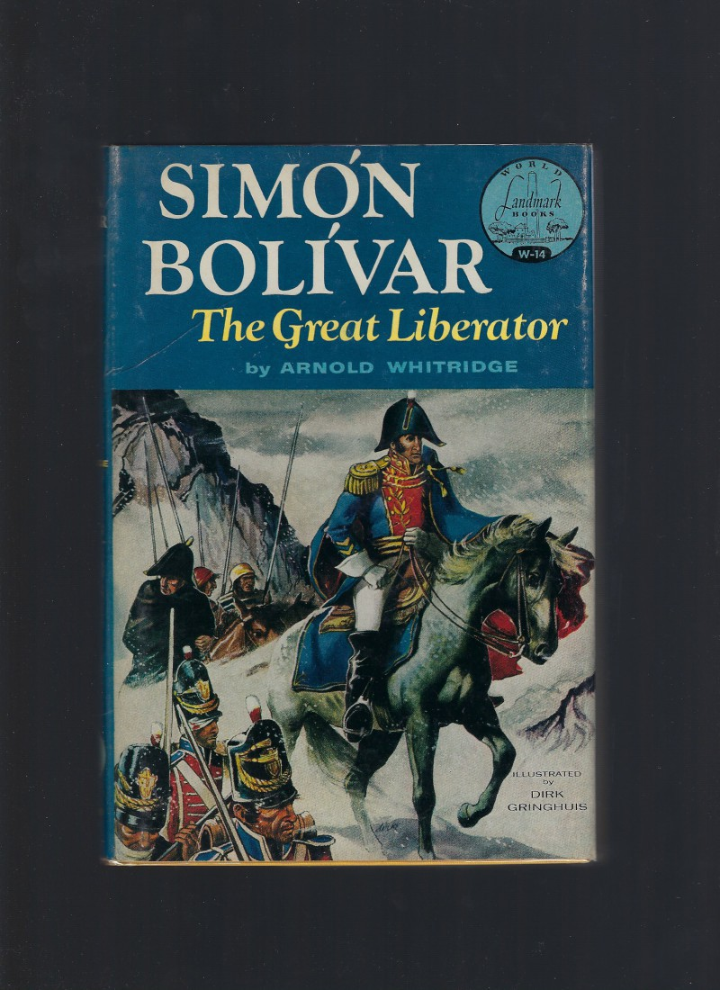 Simon Bolivar World Landmark #14 HB/DJ, Arnold Whitridge