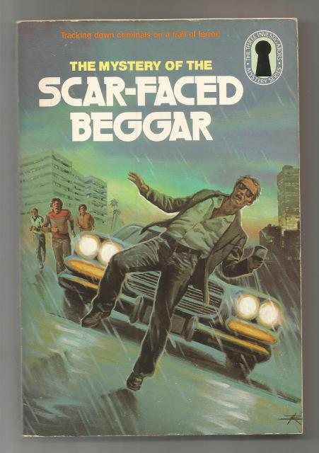 The Mystery of the Scar-Faced Beggar #31 (Three Investigators), Mary V. Carey