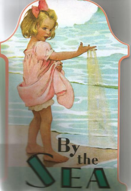 By The Sea (Shape Books) Large Softcover Picture Book, Laughing Elephant Publishing [Compiler]