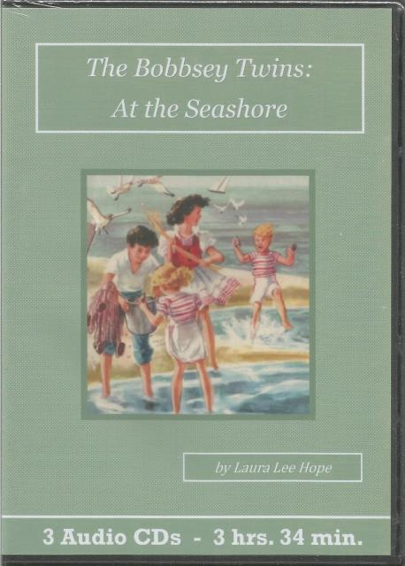 The Bobbsey Twins - At the Seashore Children's Audiobook CD Set (3D BOOK), Laura Lee Hope